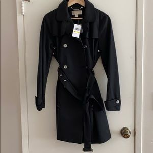 NWT michael koes black jacket ,M